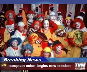 Breaking News -  european union begins new session