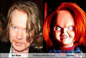 Axl Rose Totally Looks Like Chucky
