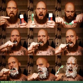 Brushing your teeth, level; BAWS