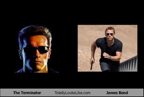 The Terminator Totally Looks Like James Bond