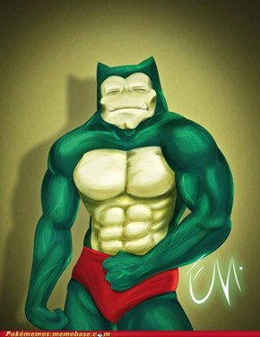 Snorlax's been hitting the gym