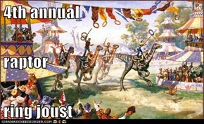 4th annual raptor ring joust