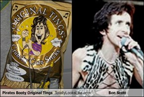 Pirates Booty Original Tings Totally Looks Like Bon Scott