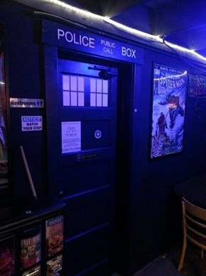 Did You Know There's a Doctor Who Bar in Portland?