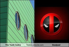 This Youth Centre Totally Looks Like Deadpool
