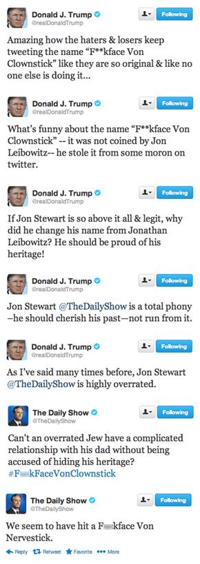 Jon Stewart, Master Troll