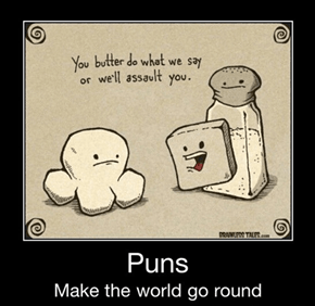Buttery Delicious Puns