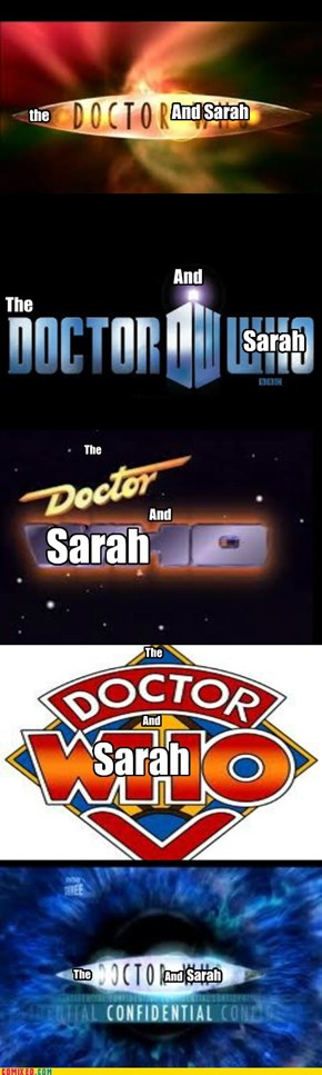 The Doctor And Sarah Happy Birth Day Sarah