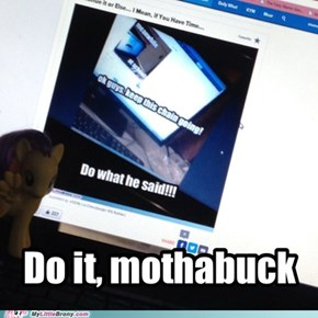 Do it, mothabuckah