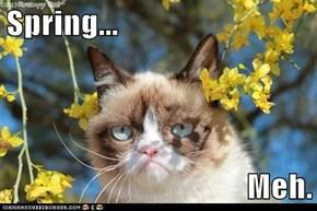 Spring...  Meh.