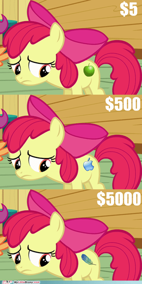 The most expensive cutie mark ever?