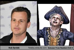 Rob Dyrdek Totally Looks Like Salazaar From Resident Evil 4