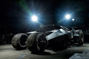 For a Cool $1.6 Million You Can Own a Batman Tumbler!