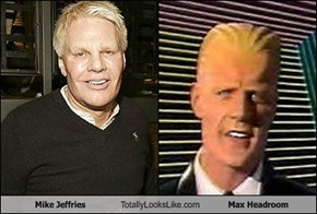 Mike Jeffries Totally Looks Like Max Headroom