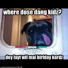 where dose dang kidz?