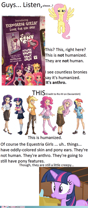 Sort of Equestria Girls PSA