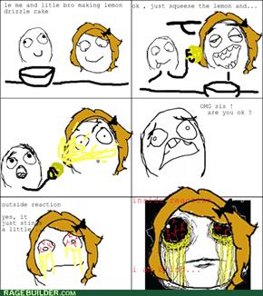 never trust lemons...