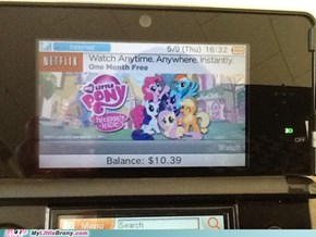 Not Like There's a MLP 3DS Game...