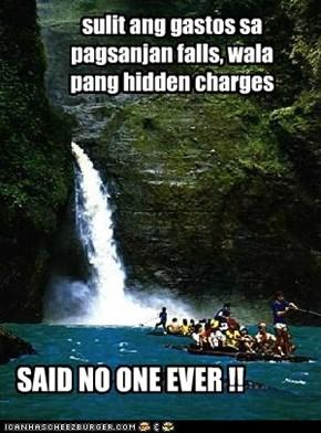 sulit ang gastos sa pagsanjan falls, wala pang hidden charges