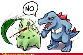 How I Feel When Someone Suggests I Pick Chikorita As My Starter