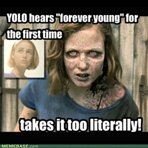 "YOLO hears ""forever young"" for the first time"