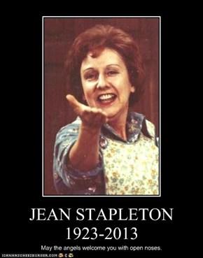 JEAN STAPLETON 1923-2013