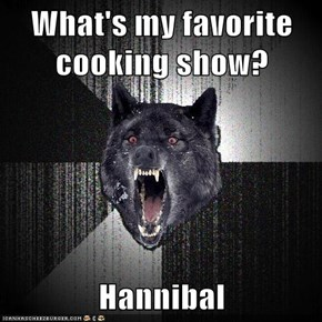 What's my favorite cooking show?