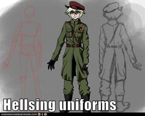 Hellsing uniforms