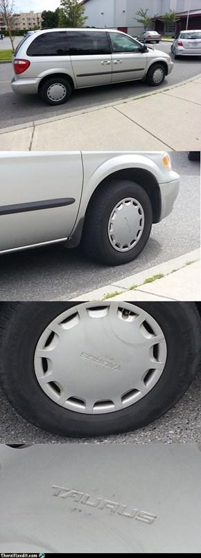 The new Dodge Taurus