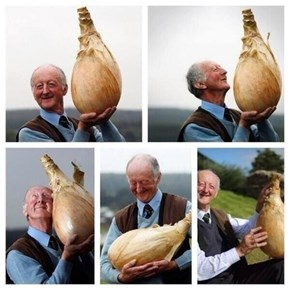 Nothing is More Heartwarming Than a Man With His Onion