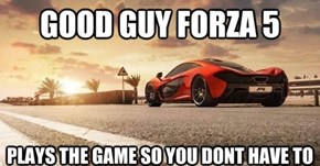 "Good Guy Forza 5: ""Driveatar"" Will Mimic Real People to Drive Against"