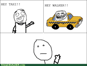 Never taking the Taxi again!