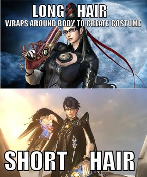 Bayonetta's New Look