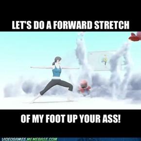 I'll blow you fat turds away!