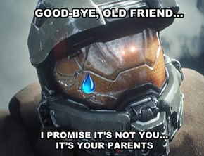 Goodbye, Sweet Master Chief