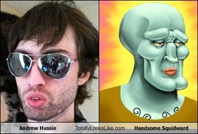 Andrew Hussie Totally Looks Like Handsome Squidward