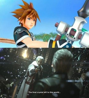 Kingdom Hearts III Will Also Be on Xbox One