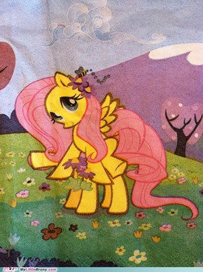 Fluttershy Used Double Team!