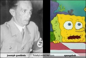 joeseph goebbels Totally Looks Like spongebob