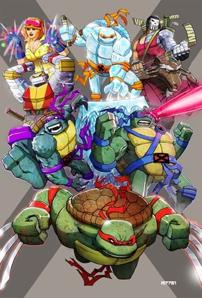 Teenage Mutant Ninja X-Men