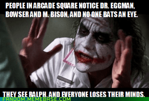 Wreck-It Ralph Logic