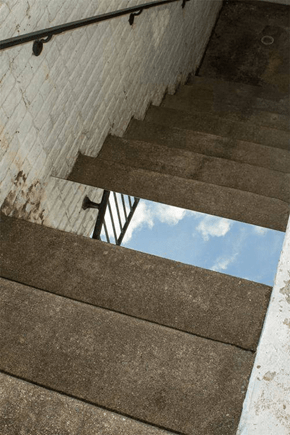 Mirror on Some Stairs? Instead Mind-Blow.