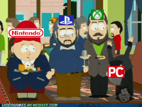 How console gamers see most PC gamers