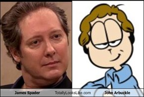 James Spader Totally Looks Like John Arbuckle