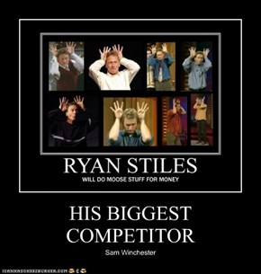 HIS BIGGEST COMPETITOR
