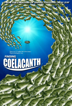 Trying to Find the Coelacanth in Animal Crossing: New Leaf