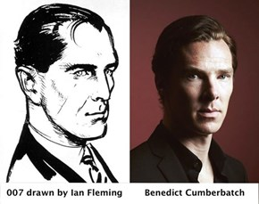Ian Fleming's 007 totally looks like Benedict Cumberbatch