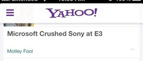 Go Home Yahoo, You're Drunk