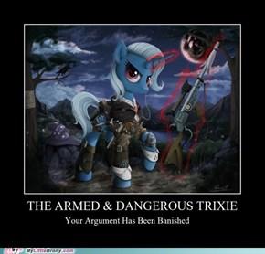 Trixie is Best Marksmare.