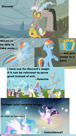 Discord Alicorn Theory